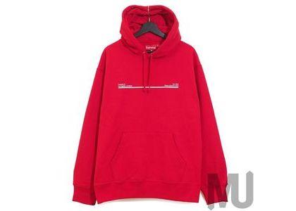 Supreme Shop Hooded Sweatshirt Los Angels Redの写真