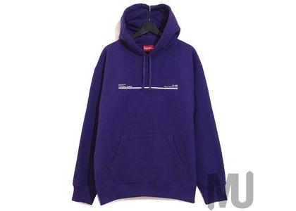 Supreme Shop Hooded Sweatshirt Los Angels Purpleの写真
