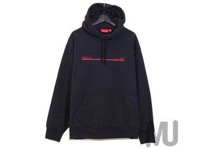 Supreme Shop Hooded Sweatshirt Los Angels- Navyの写真