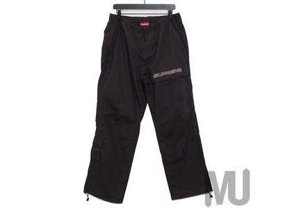 Supreme Cotton Cinch Pant Blackの写真