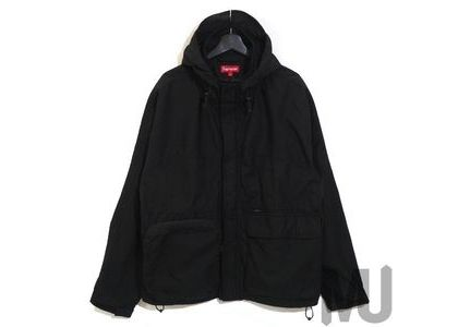 Supreme Technical Field Jacket Black (20FW)の写真