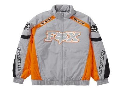 Supreme × Fox Racing Puffy Jacket Greyの写真