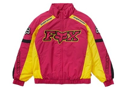 Supreme × Fox Racing Puffy Jacket Pinkの写真