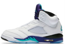 Nike Air Jordan 5 Retro Grape Fresh Princeの写真