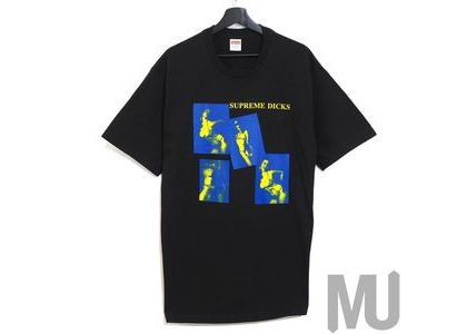 Supreme Dicks Tee Blackの写真
