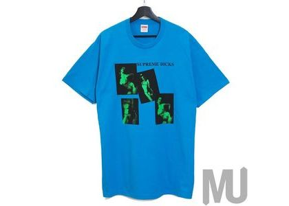 Supreme Dicks Tee Bright Blueの写真