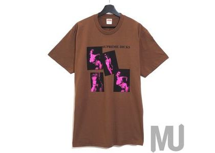 Supreme Dicks Tee Brownの写真