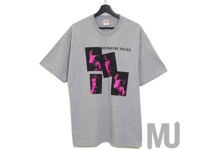 Supreme Dicks Tee Heather Greyの写真