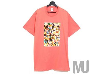 Supreme Pills Tee Bright Coralの写真