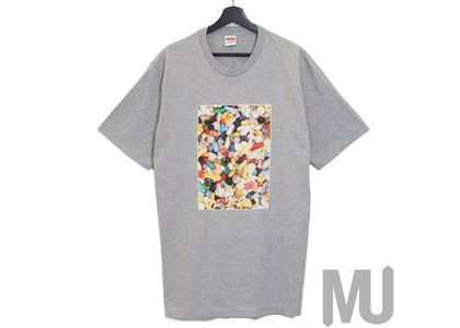Supreme Pills Tee Heather Greyの写真