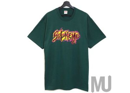 Supreme Scratch Tee Dark Greenの写真