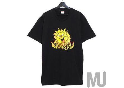 Supreme Sun Tee Blackの写真