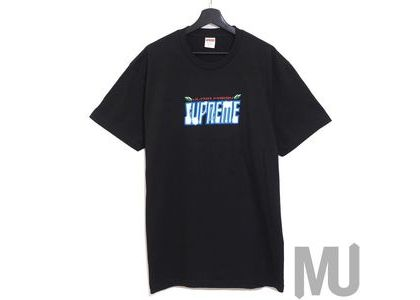 Supreme Ultra Fresh Tee Blackの写真