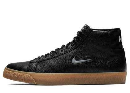 Nike SB Zoom Blazer Mid Premium Black Gum Jewelの写真
