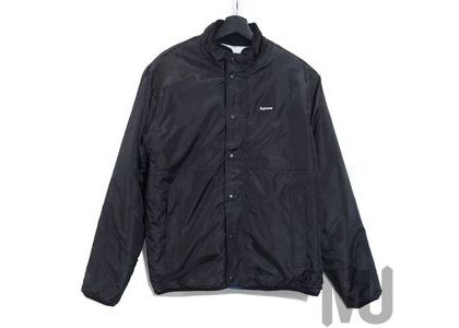 Supreme Logo Taping Work Shirt Blackの写真
