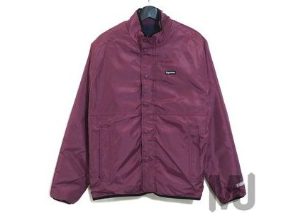 Supreme Logo Taping Work Shirt Dusty Purpleの写真