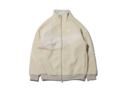 Nike Big Swoosh Boa Jacket LightBone Sailの写真