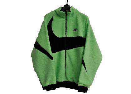 Nike Big Swoosh Boa Jacket Greenの写真