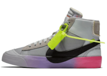 "Off-White × Nike Blazer Mid  Wolf Grey Serena ""Queen""の写真"