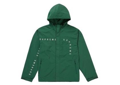Supreme Curve Logos Ripstop Jacket  Oliveの写真