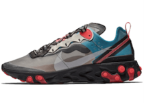 Nike React Element 87 Blue Chill Solar Redの写真