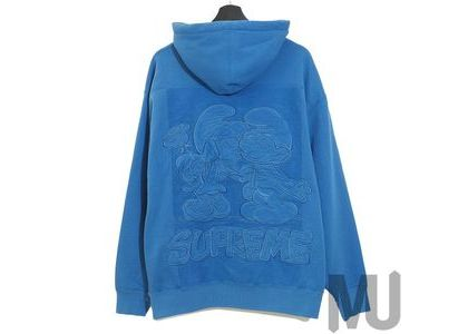Supreme × Smurfs Hooded Sweatshirt  Pale Royalの写真