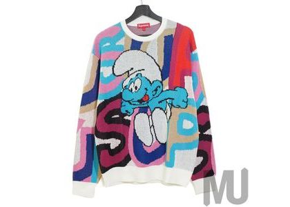 Supreme × Smurfs Sweater  Whiteの写真