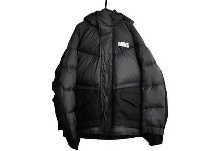 Sacai × Nike Men's Parka Blackの写真