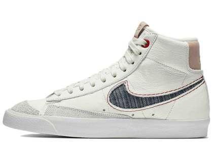 Denham × Nike Blazer Mid 77' Whiteの写真