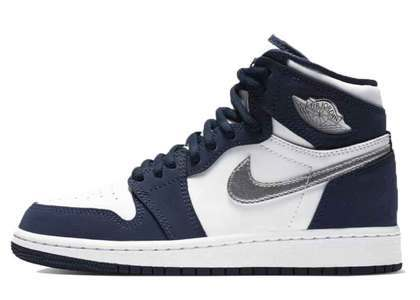 Nike Air Jordan 1 Retro High OG Midnight Navy CO.JP GSの写真
