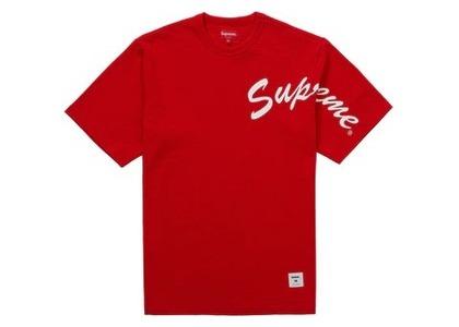 Supreme Shoulder Arc S/S Top Redの写真