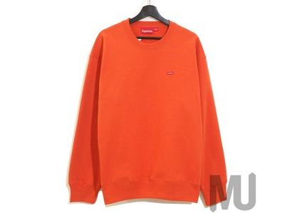 Supreme Small Box Crewneck Burnt Orangeの写真