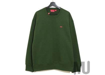 Supreme Small Box Crewneck Greenの写真