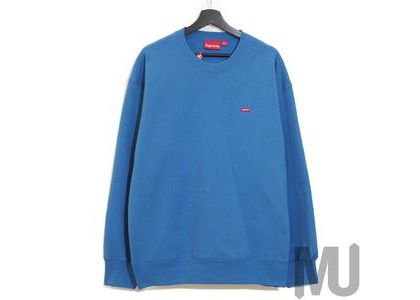 Supreme Small Box Crewneck Pale Royalの写真