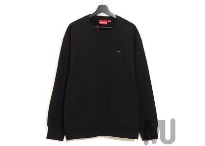 Supreme Small Box Crewneck Blackの写真