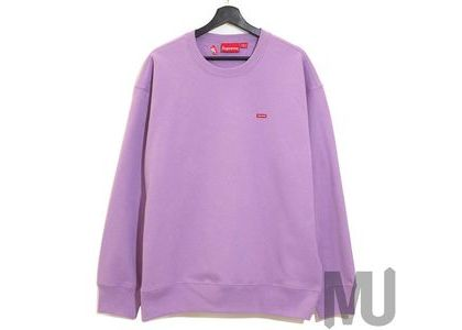 Supreme Small Box Crewneck Violetの写真