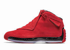 "JORDAN 18 RETRO ""GYM RED/BLACK""の写真"