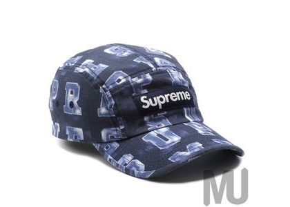 Supreme Blocks Camp Cap Navyの写真