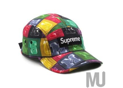 Supreme Blocks Camp Cap Multicolorの写真