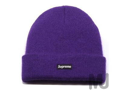 Supreme Mohair Beanie Bright Purpleの写真