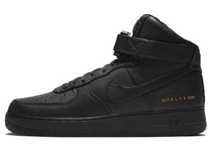 Alyx × Nike Air Force 1 High Black Metallic Goldの写真