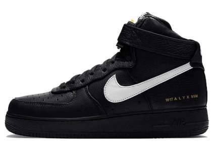 Alyx x Nike Air Force 1 High Black Whiteの写真