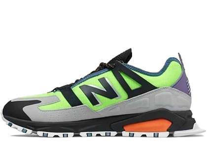 New Balance X-Racer Energy Lime Team Orangeの写真