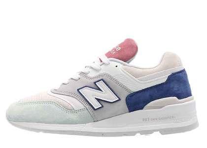 New Balance 997 White Mint Pinkの写真