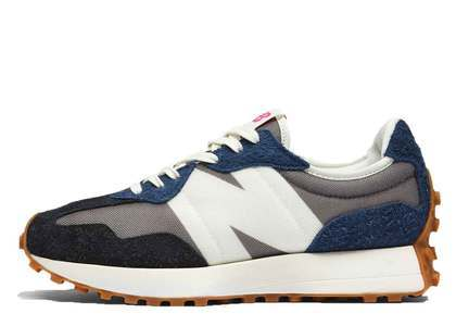 New Balance 327 Grey Navy Blackの写真