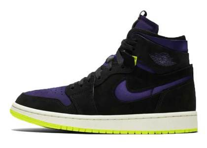 Nike Air Jordan 1 High Zoom Plum Purple Womensの写真