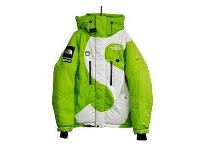 Supreme × The North Face S Logo Himalayan Parka Limeの写真