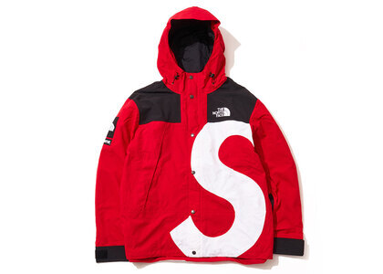 Supreme × The North Face  S Logo Mountain Jacket Redの写真