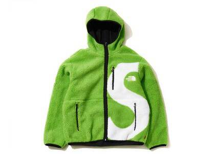 Supreme × The North Face  S Logo Hooded Fleece Jacket Limeの写真