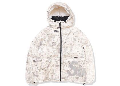 Supreme Hooded Down Jacket Receiptsの写真
